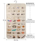 BB Brotrade HJO80 Hanging Jewelry Organizer,80