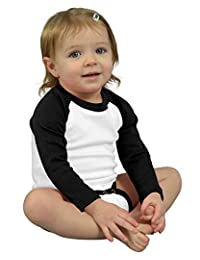 MONAG Long Sleeve Raglan Bodysuit
