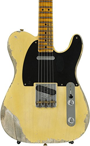 Fender Custom Shop 1951 Time Machine Heavy Relic Telecaster - Faded Nocaster Blonde ()