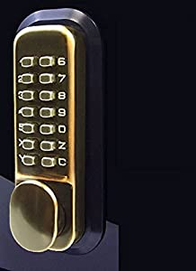 All Weather Double Keypad Mechanical Keyless Door Lock