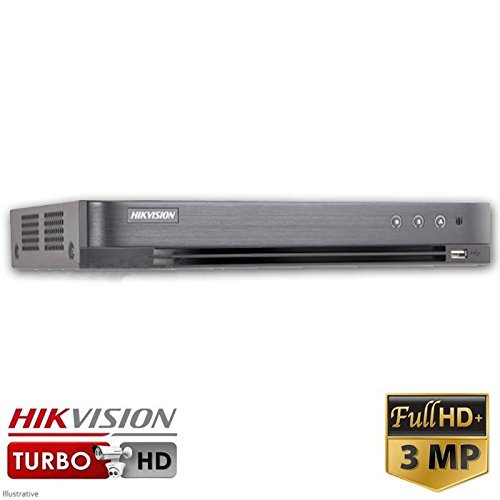 Hikvision ds-7208hqhi-k1 8 canali Turbo HD Hybrid DVR (3MP, TVI, IP, AHD, 960H, analogico)