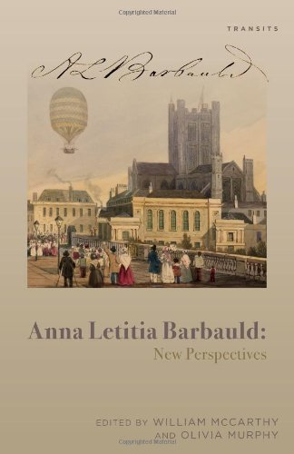 Anna Letitia Barbauld: New Perspectives (Transits: Literature, Thought & Culture, 1650–1850)