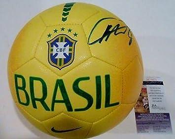 Kaka Signed Brazil Nike Soccer Ball w JSA COA M74873 Real Madrid Brasil -  Autographed c862349e7