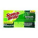 Scotch-Brite Rescue Soap Filled Mini Pads 3 pk (Pack of 12)