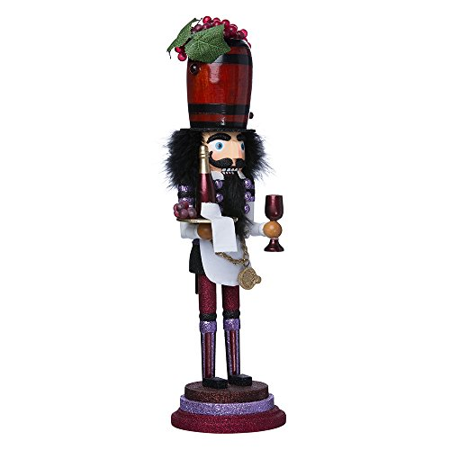 Kurt Adler 19-Inch Hollywood Wine Nutcracker
