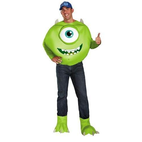 Mike Wazowski Deluxe Adult Costume - XX-Large -