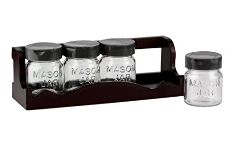Barbuzzo Mason Spice Rack Brown product image
