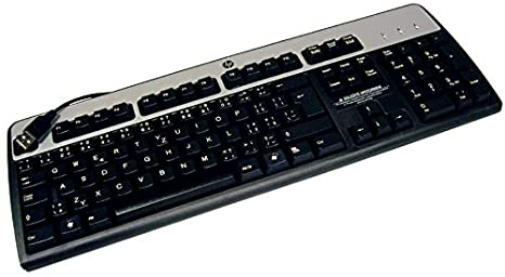 0e5efc74a72 Amazon.com: HP Czech KU-0316 USB Keyboard 537746-221: Computers ...