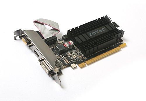 ZOTAC GeForce GT 710 2GB DDR3 PCI-E2.0 DL-DVI VGA HDMI Passive Cooled Single Slot Low Profile Graphics Card (ZT-71302-20L) by ZOTAC (Image #3)