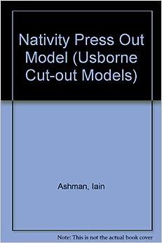 Nativity Press Out Model (Usborne Cut Out Models)