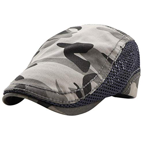 Suma-ma 5Colors Unisex Hats -Network Camouflage Hat Beret (Black, Blue,Coffee,Gray,Orange) for $<!--$3.40-->