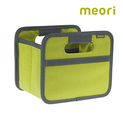 meori Foldable 1 Pack Spring Green, Collapsible Box to Organize, Store and Carry Anything and Everything Mini (Green Helper Box)