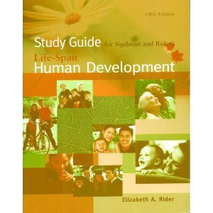 Study Guide for Sigelman/Rider's Life-Span Human Development, 5th
