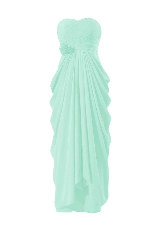 DaisyFormals Long Evening Dress Sweetheart Chiffon Party Dress Bridesmaid Dress(BM332L)