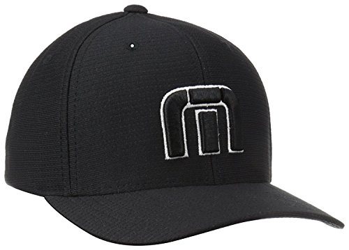 Travis Mathew Men's B-bahamas Cap, Black, Small/Medium