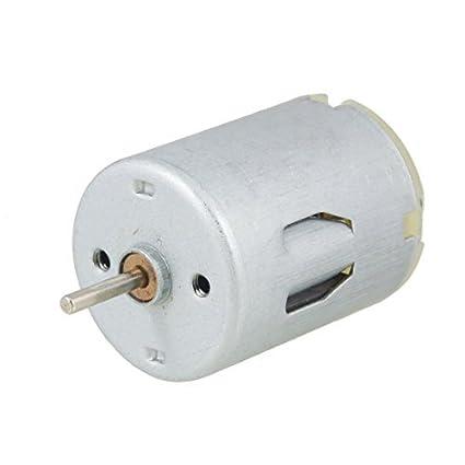 DealMux DC 12V 7800RPM 2 terminais de pino elétrica Micro Motor, 2 mm - - Amazon.com