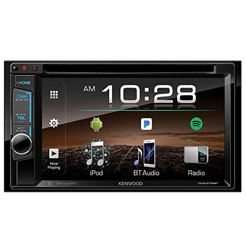 Kenwood DDX375 2-Din 6.2 Inch Monitor Receiver with - Tri Wire Cage Level