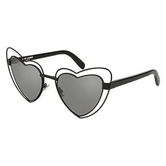 Loulou Sunglasses in Silver Metal Saint Laurent 40kkAG