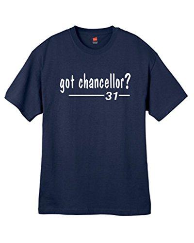 Mens Got Chancellor ? Navy Blue T Shirt Size Large