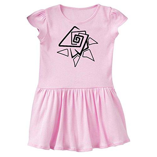 Ballerina Pink Rose Petal - inktastic - Easter and Spring Geometric Toddler Dress 2T Ballerina Pink 2912a