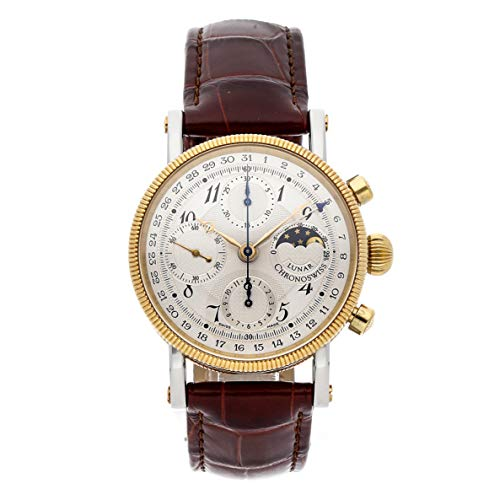 Chronoswiss Lunar Mechanical (Automatic) Silver Dial Mens Watch CH7522L (Certified Pre-Owned)