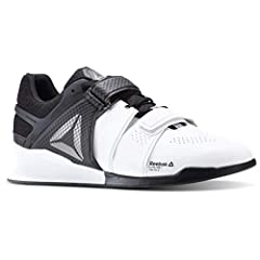 Perfect your squat technique and power through your next gym sesh in the Reebok™ Legacy Lifter cross-training shoe.  Anatomical shape for an improved fit.  Perforated, supportive synthetic and durable textile upper materials.  Flexcage techn...