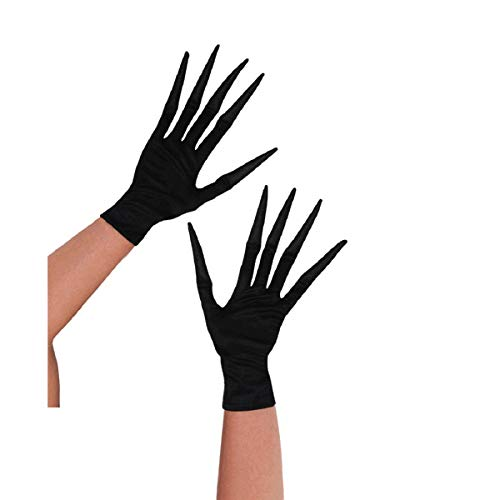 Amscan Child Long Fingered Creepy Gloves | 8 Ct. -
