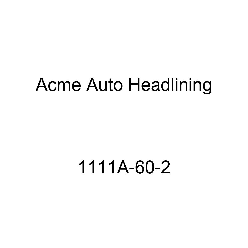 Acme Auto Headlining 1111A-60-2 Black Replacement Headliner 1940 Buick Roadmaster, Super /& Cadillac Series 62 2 Dr Coupe 5 Bows