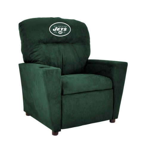 Embroidered Kids Recliner - Imperial Officially Licensed NFL Furniture: Youth Microfiber Recliner, New York Jets