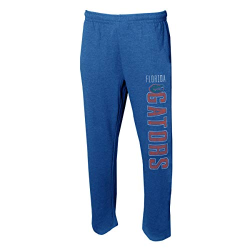 Concepts Sport Men's NCAA -Squeeze Play- Terry Cloth Sleepwear Pajama Pants-Heathered-Florida ()
