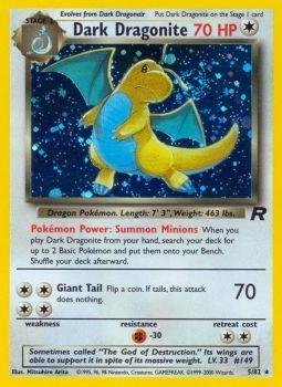 Pokemon - Dark Dragonite (5) - Team Rocket - Holo