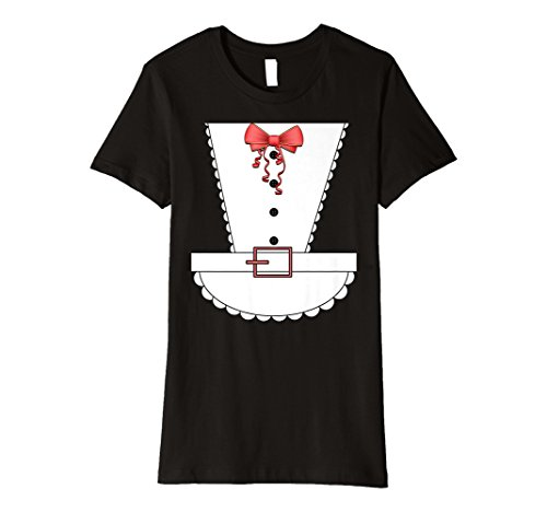 Womens French Maid Halloween Costume T-shirt for $<!--$19.95-->