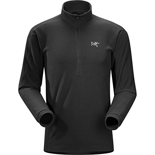 ARC'TERYX Delta LT Zip Men's (Black, Small)