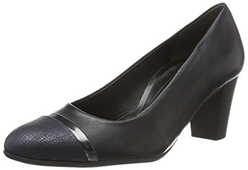 Gabor Shoes Comfort Fashion 52.162, Zapatos de Tacón para Mujer Multicolor (river/Ocean/Steel 86)