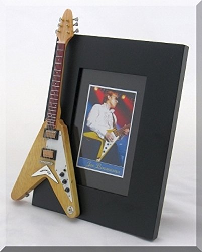 JOE BONAMASSA Miniature Guitar Photo Frame - Korina Body