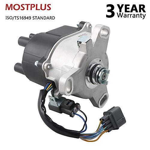 (MOSTPLUS New Ignition Distributor For 1992 1993 1994 1995 HONDA Civic DX, CX, LX NON V-TEC with TD-41U)