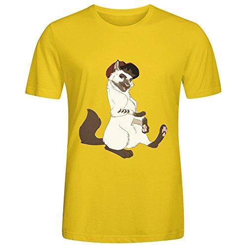 cat-liam-mens-t-shirts-yellow