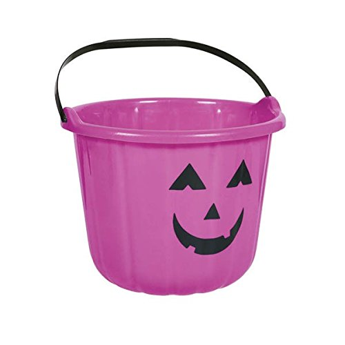 amscan Sweet Treats Halloween Pumpkin Bucket ‑ Purple Party Favour, Plastic, 6
