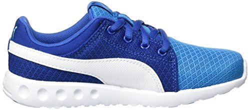 Enfant 400 Puma White Sneakers Danube puma Carson Runner Bleu Blue Basses Mixte Mesh 02 PS RwA8wq