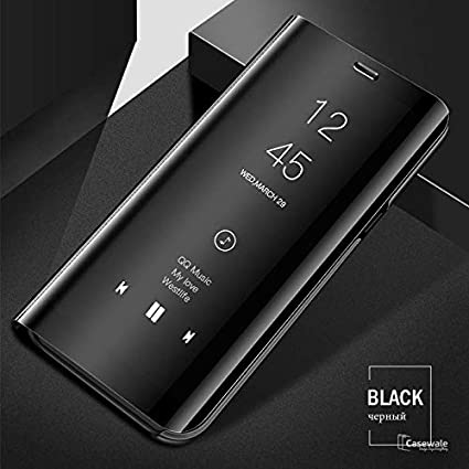 promo code 75def 7d9ca FONENAME Clear View Mirror Smart Case for Oneplus 6 One: Amazon.in ...