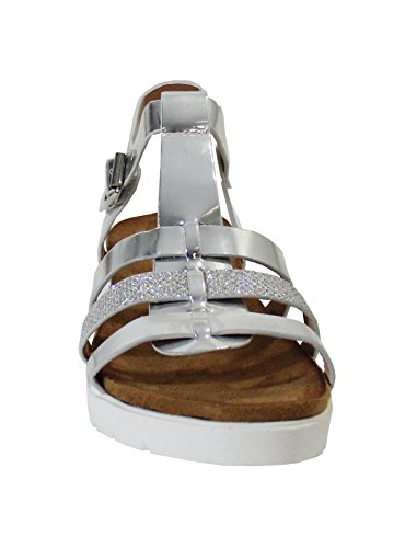 By Shoes -Sandalias para Mujer Silver