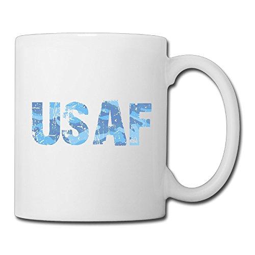 Shining Star Vintage Camo USAF Ceramic Coffee Mug