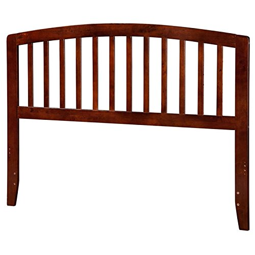 Atlantic Furniture Richmond King Spindle Headboard in Walnut ()