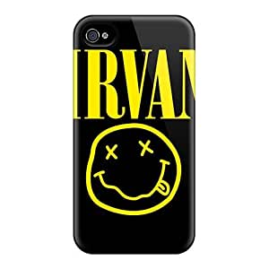 Anti-Scratch Hard Phone Cover For Iphone 4/4s (tGC9335wlkr) Support Personal Customs Fashion Foo Fighters Series