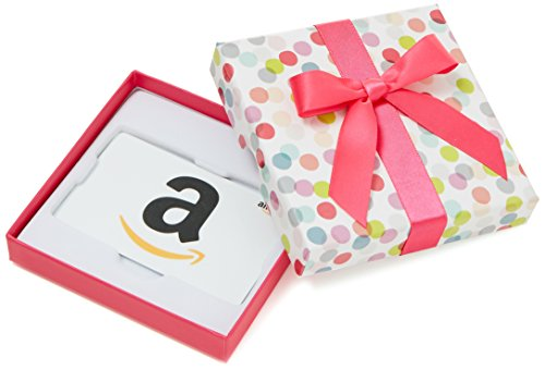 - Amazon.com Gift Card in a Dot Box