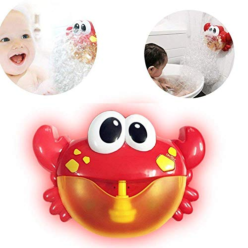 Hankyky Bubble Machines for Kids Automatic Bubble Blowers Crab Bubble Makers, Bubbles Party Favors Supplies, Summer Toy, Outdoor / Indoor Activity Use, Birthday Gifts -