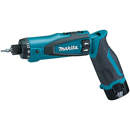 2. Makita DF010DSE 7.2-Volt Lithium-Ion Cordless Driver-Drill Kit with Auto-Stop Clutch