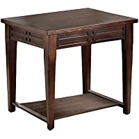 Greyson Living Crosby Mocha Cherry End Table by