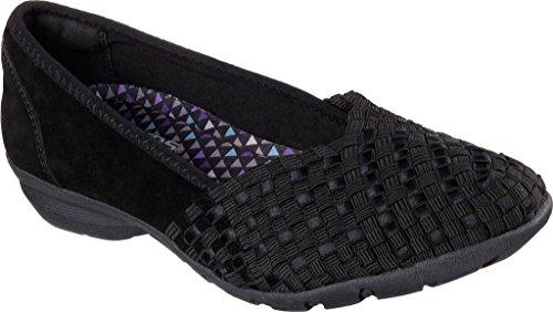 Skechers Dames Relaxed Fit Carrière Puzzelen Loafer Zwart
