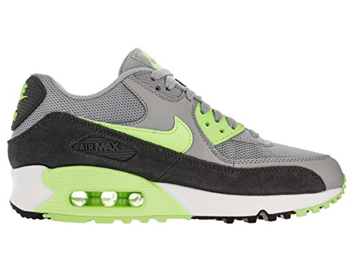 Nike Air Max 90 Essential - Zapatillas para mujer Gris-Negro-Verde claro